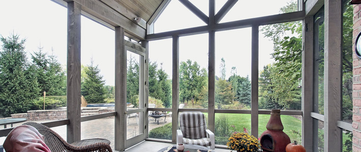 Auburn Hills Sunroom Contractor | Home Additions